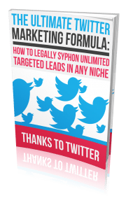 Ultimate Twitter Marketing Formula
