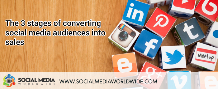 The 3 Stages of Converting Social Media Audiences Into Sales