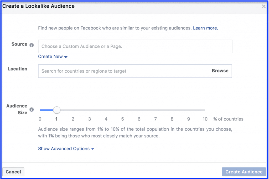 How to Create Facebook Campaign Audiences - Social Media