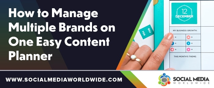 How To Manage Multiple Brands On One Easy Content Planner